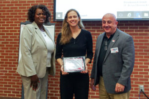 Cover photo for Robyn Stout Received an Award for Outstanding Subject Matter Program by an Individual